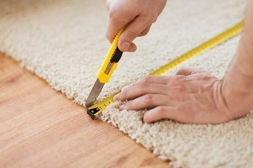 Measuring Irregular Spaces for Carpet Installation